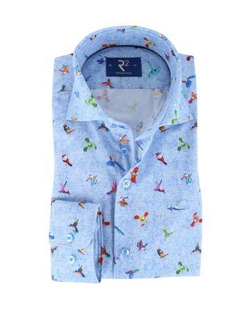 R2 Shirt Blue Birds