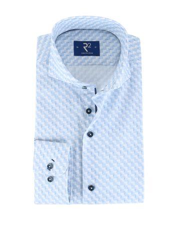 R2 Shirt Blue Checks
