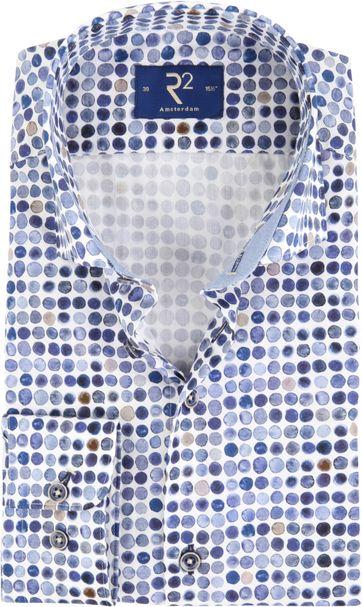 R2 Shirt Blue Dots