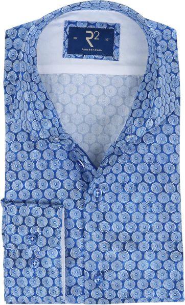 R2 Shirt Blue Parasols