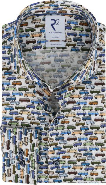 R2 Shirt Bus Multicolour