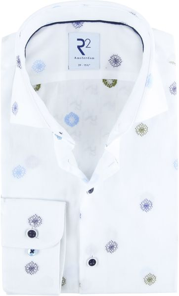 R2 Shirt Dahlia White