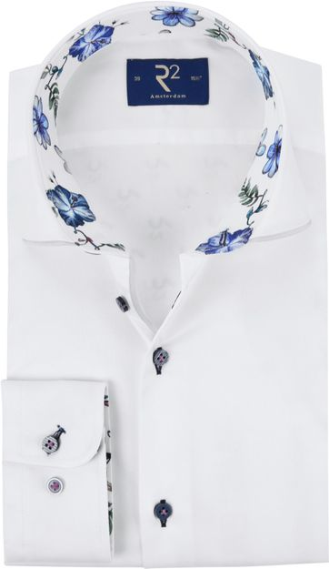 R2 Shirt Fine Twill MF White