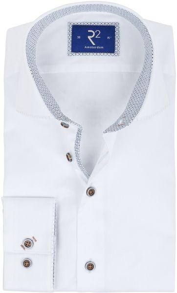 R2 Shirt Fine Twill White