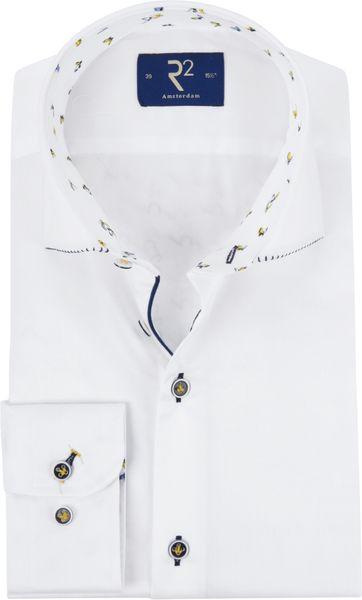R2 Shirt Fine Twill White TF