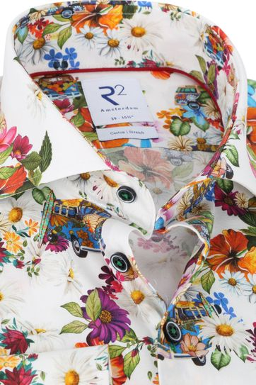 R2 Shirt Flower Power Multicolour