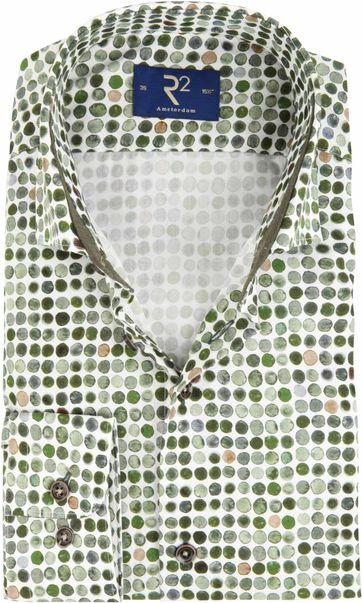 R2 Shirt Green Dots