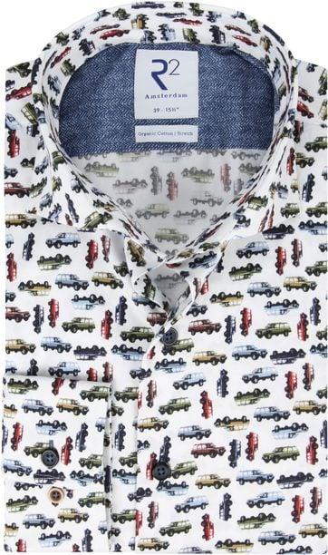R2 Shirt Jeep Print