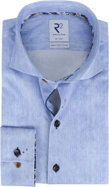 R2 Shirt Light Blue Melange