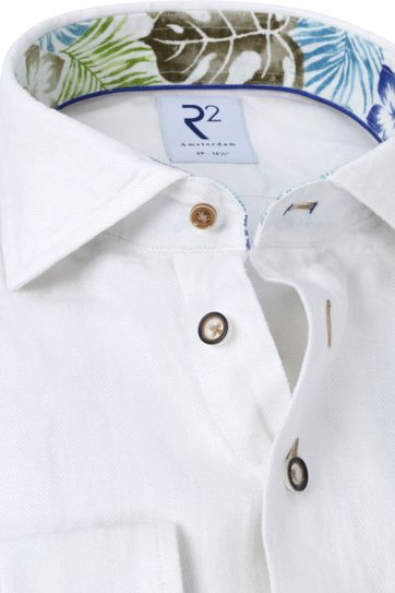 R2 Shirt Linen White