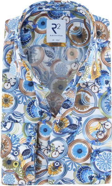 R2 Shirt Multicolour Dessin
