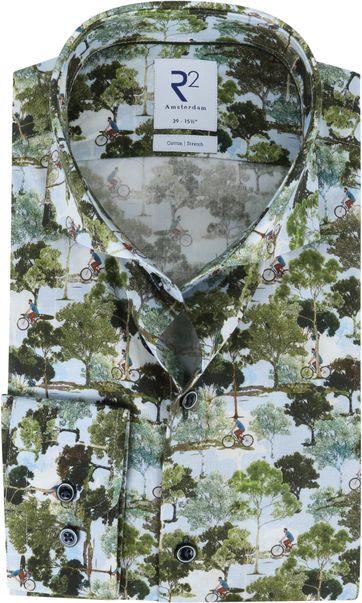 R2 Shirt Nature Multicolour