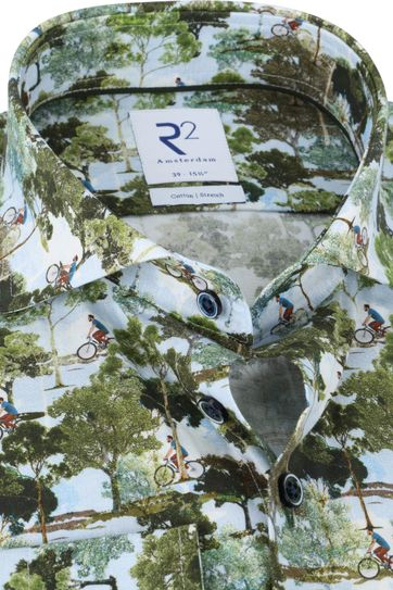 R2 Shirt Nature Multicolour
