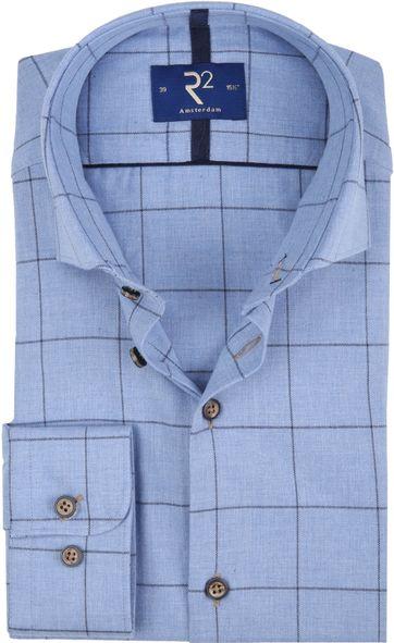 R2 Shirt Pane Blue