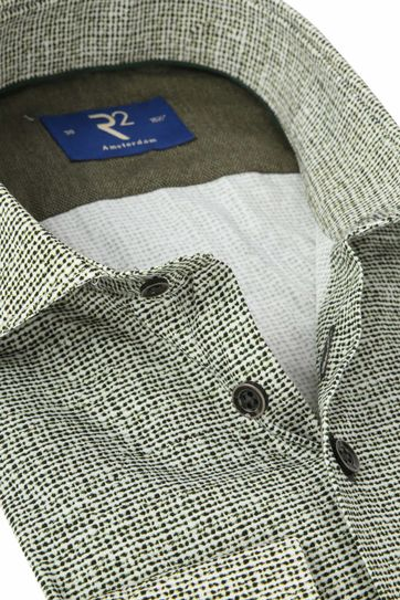 R2 Shirt Poplin Green