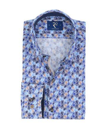 R2 Shirt Trendy Blauw