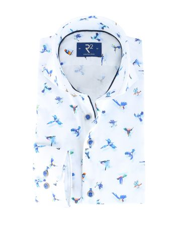 R2 Shirt White Birds