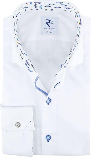 R2 Shirt White Cars