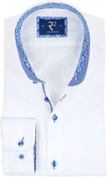 R2 Shirt White Fine Twill
