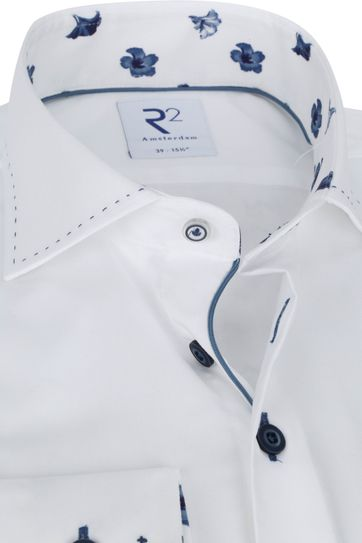 R2 Shirt White Plain