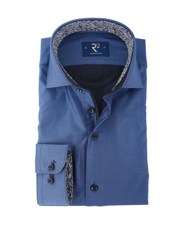 R2 Shirt Widespread Blauw
