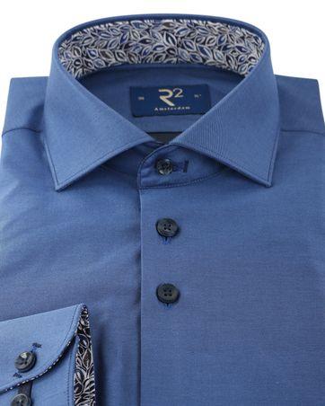 Detail R2 Shirt Widespread Blauw
