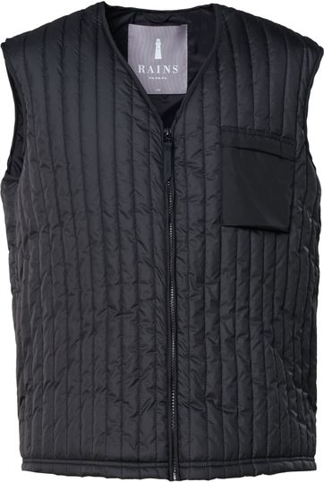 Rains Bodywarmer Black