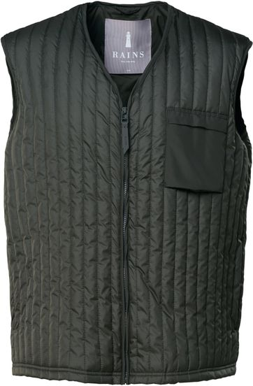 Rains Bodywarmer Dark Green