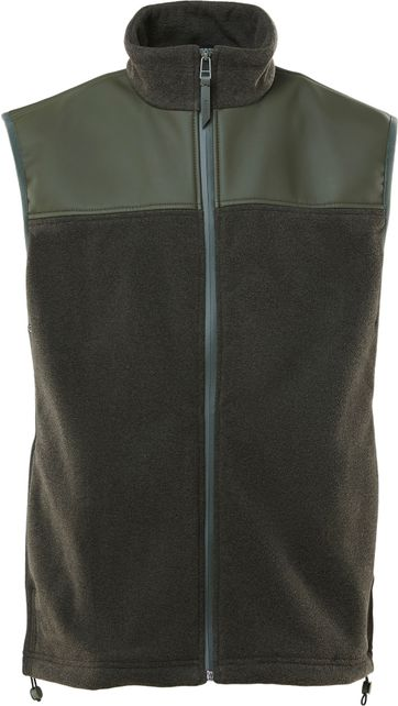 Rains Bodywarmer Fleece Dark Green