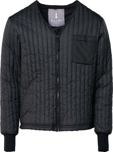 Rains Liner Jacket Black