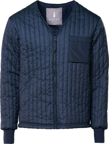 Rains Liner Jacket Navy