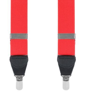 Rote Hosenträger