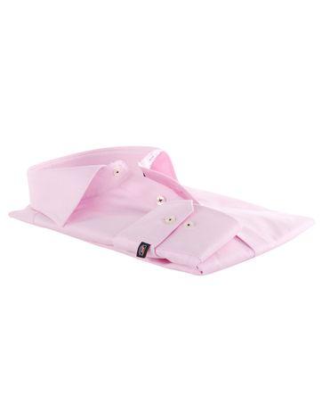 Detail Roze Zakelijk Overhemd