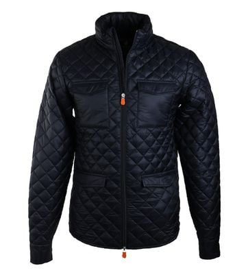 Detail Save the Duck Deny4 Jas Donker Blauw
