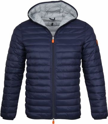 Save the Duck Giga Jacket Hooded Navy