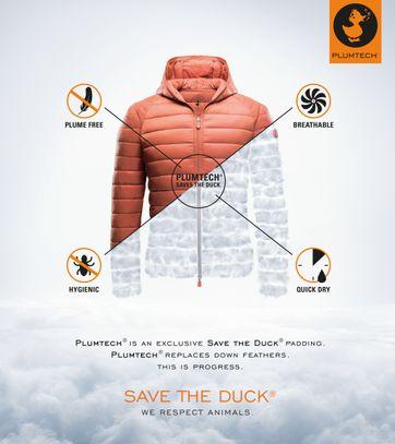 Detail Save the Duck Giga4 Jas Giubbotto Blauw