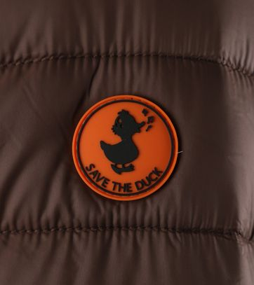 Detail Save the Duck Giga5 Jas Bruin