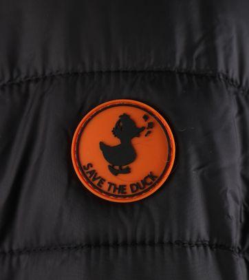 Detail Save the Duck Giga5 Jas Zwart