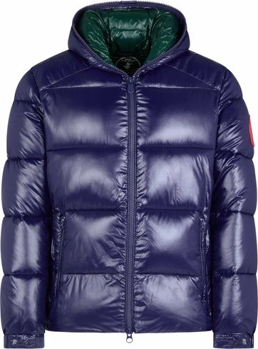 Save The Duck Hooded Jacket Navy