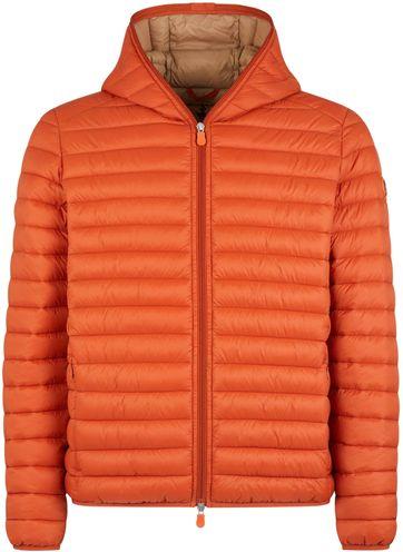Save The Duck Jacket Giga Donald Orange