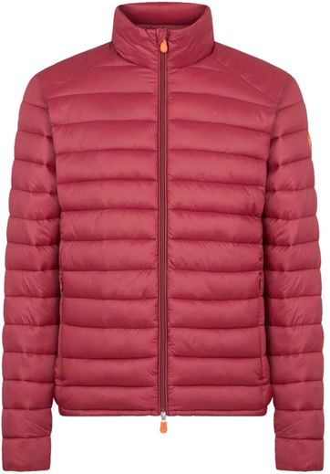 Save The Duck Jacket Giga Y Ruby Red