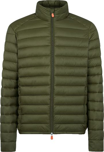 Save The Duck Jacket Gigay Olive Green