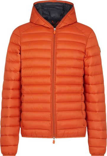Save The Duck Jacket Gigay Orange