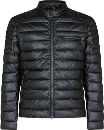 Save The Duck Leatherlook Jacket Black