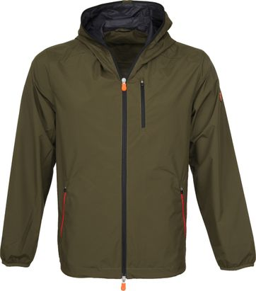 Save The Duck Maty Jas Hooded Groen