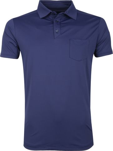 Save The Duck Polo Navy Stretch