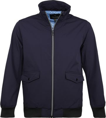 Scotch and Soda Bomber Jacke Dunkelblau