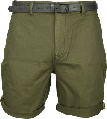 Scotch and Soda Classic Shorts Dark Green