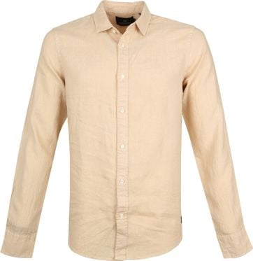 Scotch and Soda Hemd Beige