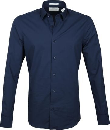 Scotch and Soda Hemd Navy